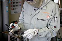 薄板板金加工の主な流れ 溶接