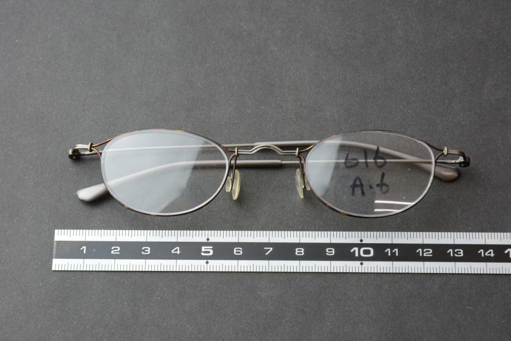 メガネフレーム SUS304-WPB