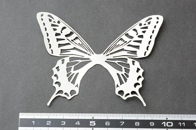 蝶の標本サンプル