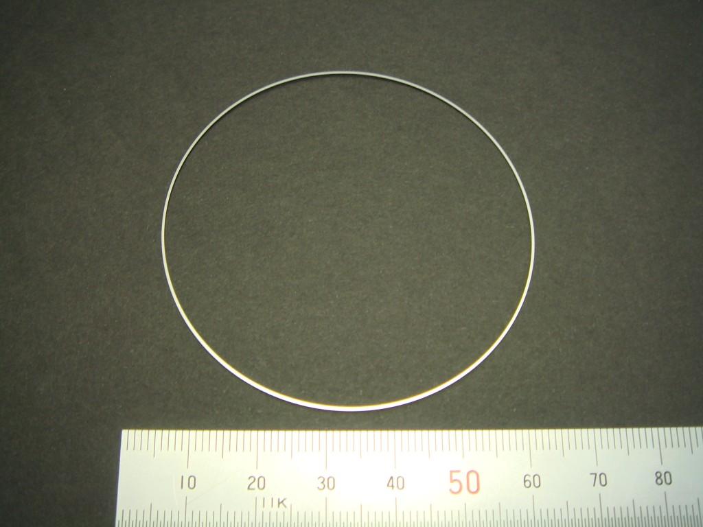 シムリング板(極細幅 外径と内径の差 0.5mm)