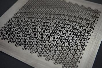 0.3t 純チタン製微細メッシュ