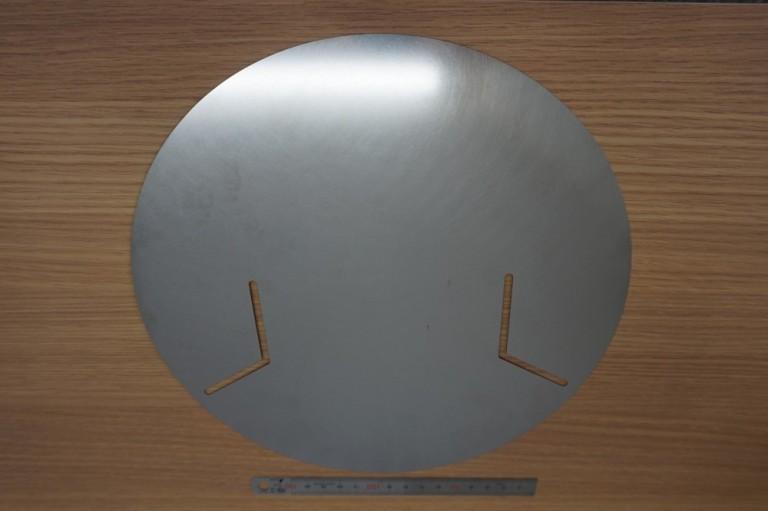 薄板レーザー加工品_SUS301_t0.3×φ250