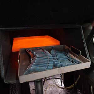 薄板ばね 熱処理