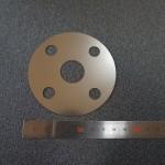 薄板レーザー加工品_SUS304H_φ80×t0.1