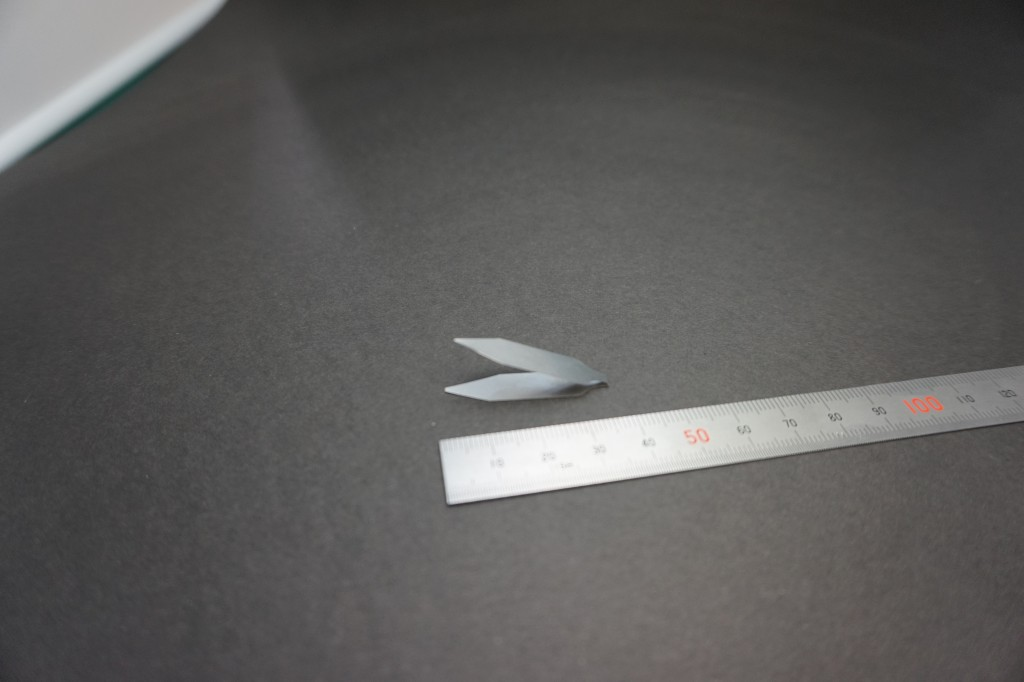 薄板ばね ステンレス(t0.05mm)